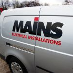 vehicle signage mains electrical installations