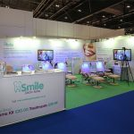 modular exhibition stand smile centre salons