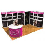 the virtues of modular exhibition stands